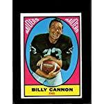 79a7bb4b31f 1967 TOPPS  109 BILLY CANNON VG+ VGEX LITE CREASES. Topps.  11.00. Billy  Cannon Football Card (LSU) 1990 Collegiate Collection ...