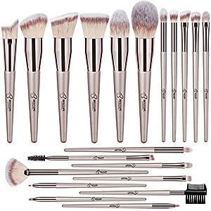 Best Epic Trends 515LxJ7OjlL._SS300_ BESTOPE Makeup Brushes 20 PCs Makeup Brush Set Premium Synthetic Contour Concealers Foundation Powder Eye Shadows Makeup…