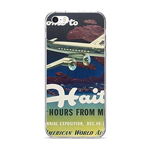 vintage-poster-haiti-iphone-5-5s-se-case