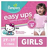 Pampers Easy Ups Pull On Disposable Training Diaper for Girls, Size 4 (2T-3T), Super Pack, 80 Count: more info