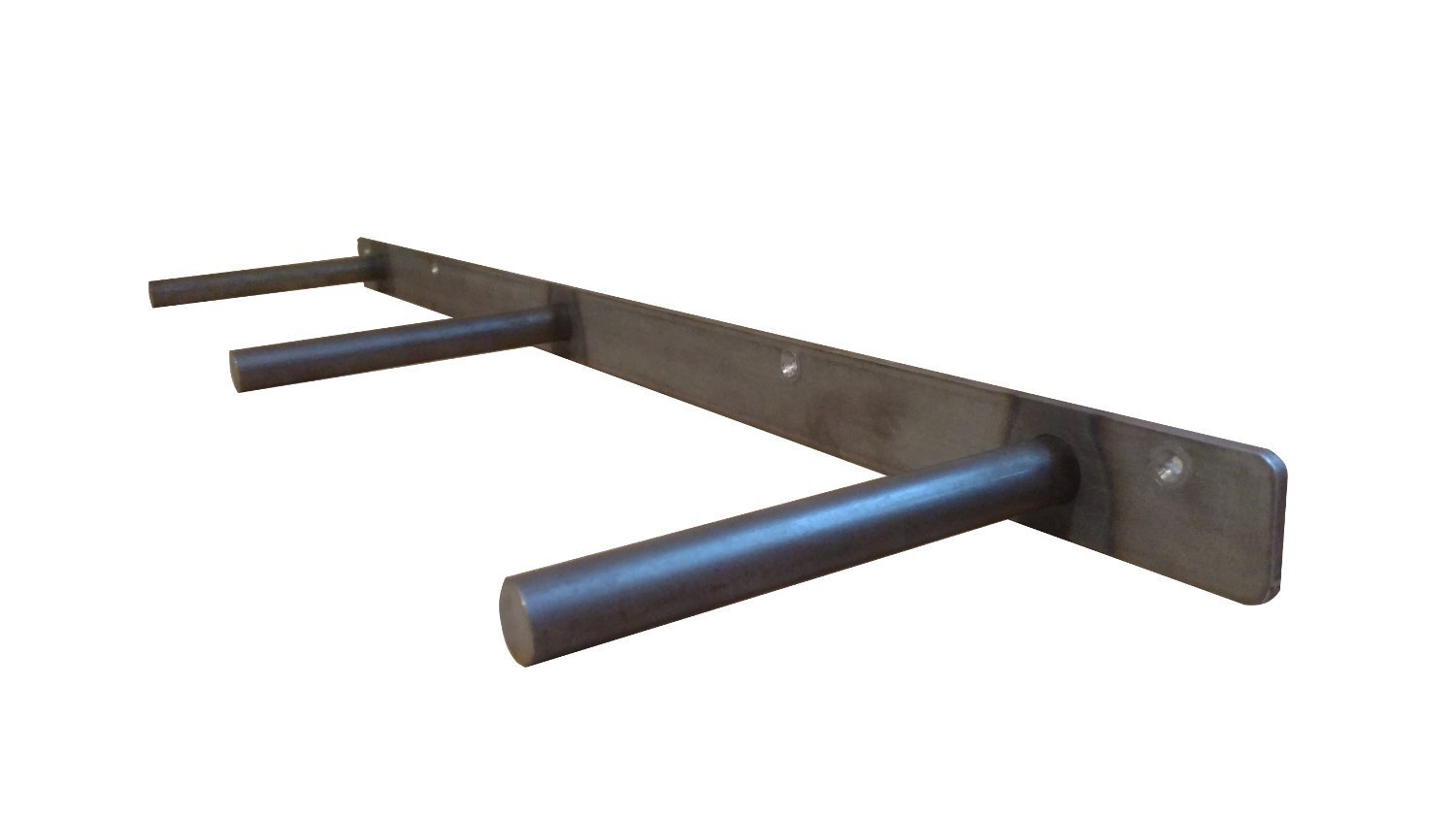 32'' Floating Shelf Heavy Duty Solid Steel Bracket- For 36'' + Shelves MADE IN THE USA! by Walnut Wood Works (Image #2)