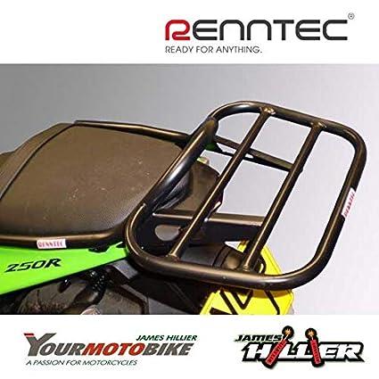 renntec Carrier rack para Kawasaki Ninja 250R, color negro ...