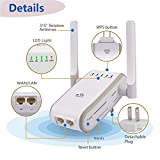 300 Mbps Wi-Fi Range Extender, Topoint Universal