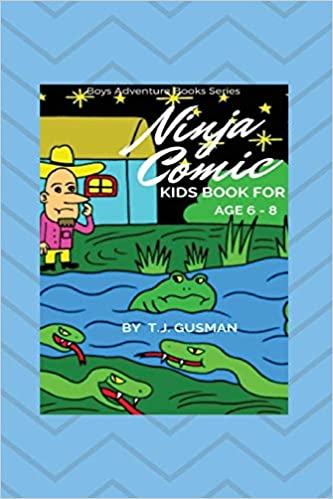 Ninja Comic Kids Book For Age 6 - 8 Boys Adventure Book ...