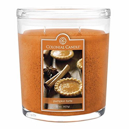 Oval Pumpkin - Pumpkin Torte 22 oz. Oval Jar Colonial Candle