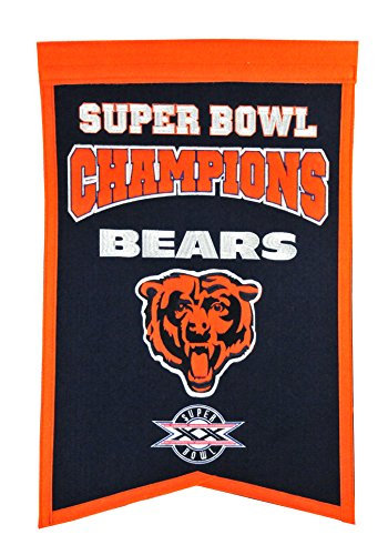 - NFL Chicago Bears Super Bowl Champions Banner