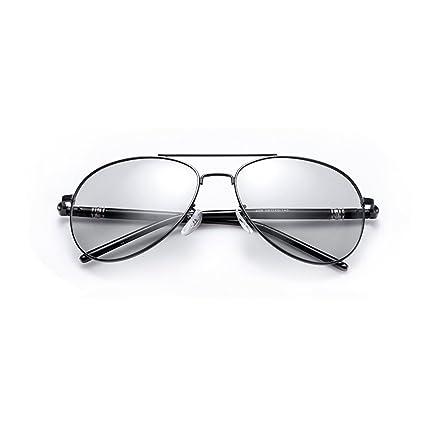 YQ QY Gafas De Sol Marco Grande Gafas Polarizadas Día Y Noche De Doble Uso Gafas