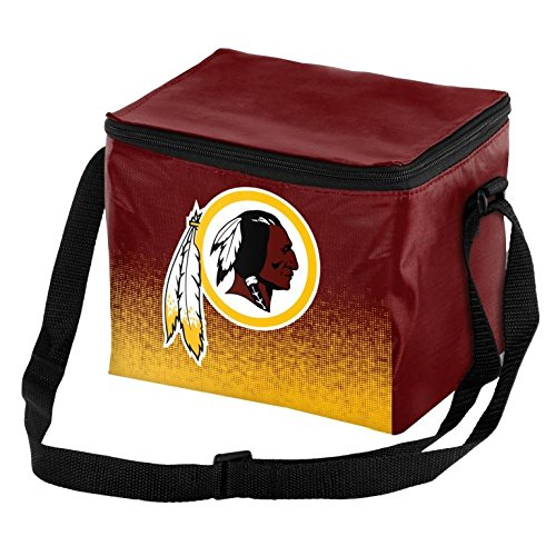 Forever Collectibles NFL Unisex Gradient Print Lunch Bag Coolergradient Print Lunch Bag Cooler, Washington Redskins, Standard