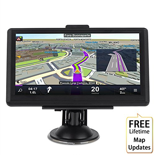 Car GPS Navigation System,GPS Navigation for car, MingAo 7 inch HD voice prompt system,GPS Navigator,Tvird Vehicle GPS Navigation with USB Cable and Car Charger,extend 8GB Memory,LIFETIME FREE Update by MingAo