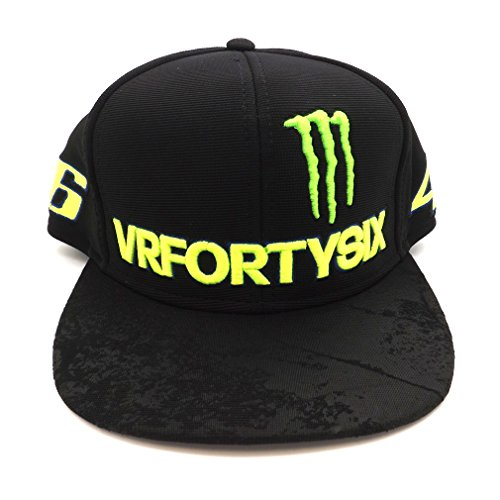 Price comparison product image Valentino Rossi VR46 Moto GP Monster Energy Flat Peak Cap Official 2017