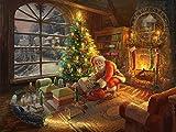 1000 piece super hero puzzle - Thomas Kinkade - Santa's Special Delivery Puzzle - 1000 Pieces