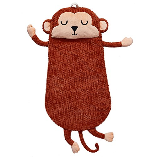 Fantasy Fields - Plush Sleeping Bag Monkey | Portable Slumber bag | Great for Nap Time