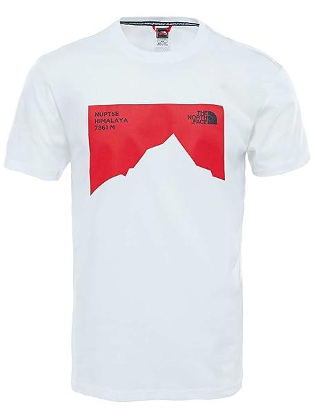 The North Face T92ZX1FN4. S Camisa y Camiseta Cuello Redondo Manga ...