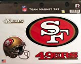 NFL San Francisco 49Ers NFL Team Magnet Sheet, Red, 11″ x 8.5″ x 25″