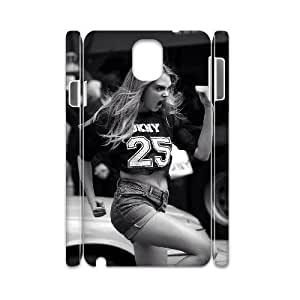 ANCASE Cara Delevingne Phone 3D Case For Samsung Galaxy note 3 N9000 [Pattern-2]