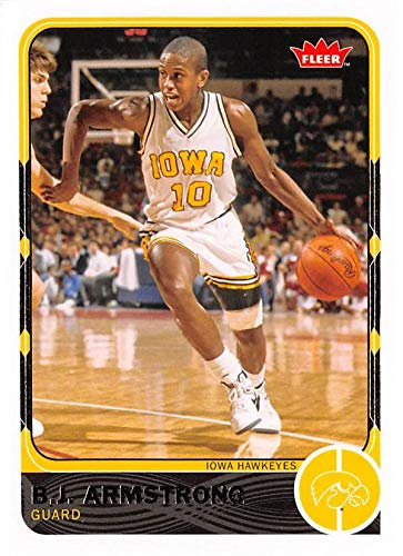 Bj Armstrong Basketball Card Iowa Hawkeyes 2012 Fleer Retro 29