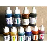 KABEER ART Arul Calligraphy Ink Colours (100ml) - Set of 10