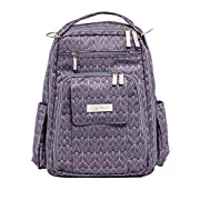 Ju-Ju-Be Classic Collection Be Right Back Backpack Diaper Bag, Amethyst Ice