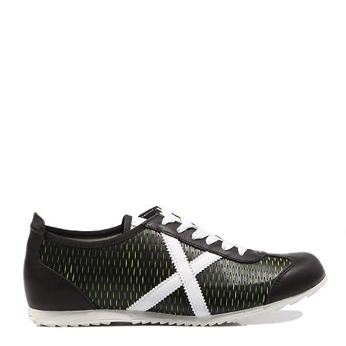 Munich Osaka 382 Negro Zapatilla para Hombre: Amazon.es: Zapatos y complementos