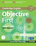 Objective First Student's Book Pack (Student's Book with Answers with CD-ROM and Class Audio CDs(2)), Annette Capel and Wendy Sharp, 1107628474