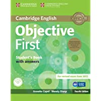 Objective first fourth edition. Student's pack with answers with CD-ROM