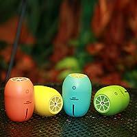 Five0Eight Ultrasonic USB Humidifier Portable Mini Lemon Night Light 180ML Cool Mist Car Air Purifier Steam Diffuser (Green).