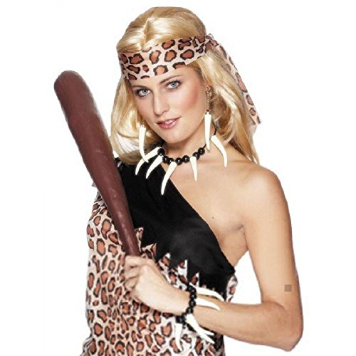 Cave Girl Costume Jewelry for Cavewoman / Voodoo Priestess Halloween Fancy Dress