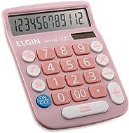 Calculadora Elgin com 12 dígitos MV-4130 Rosa, Elgin, 42MV41300000, Rosa