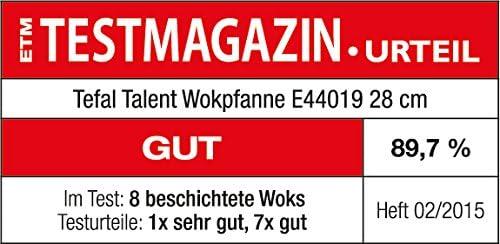 Tefal Talent Pro E44019 Sartén Wok, 28 Cm, Revestimiento ...