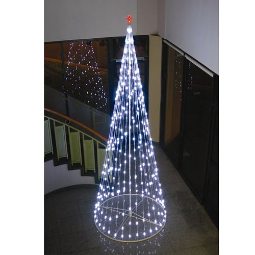 Homebrite 61502 LED Light Strand Tree with IR Remote, Bright White - 12ft by Homebrite Solar