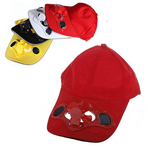 Hat Cap with Solar Sun Power Cool Fan ()