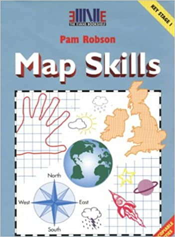 Map skills ks1 amazon pam robson 9780237517670 books gumiabroncs Choice Image