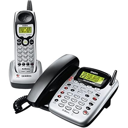 amazon com uniden cxai5198 5 8 ghz analog cordless phone with rh amazon com
