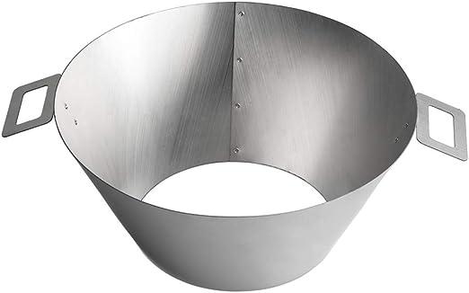 Barbecue in acciaio inox Accessori carbone 2 maniglie Dracarys BBQ Vortex Weber Kettle 22 26.75 WSM Vortex Weber Kettle BBQ Steel Weber Whirlpool Grill Kettle grande