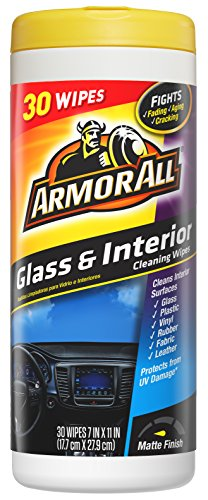 Armor All 18501 1 Pack Glass & Interior Wipe (30 Count)