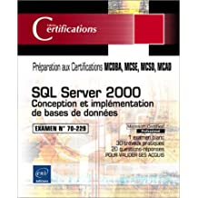 SQL Server 2000: Conception et implémentation de...