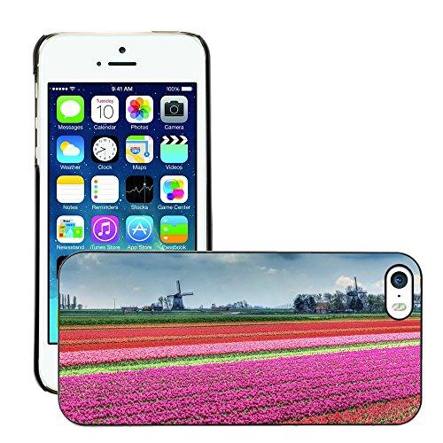 Premio Sottile Slim Cassa Custodia Case Cover Shell // V00002805 Paysage néerlandais // Apple iPhone 5 5S 5G