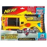 Nerf - Pistola Maverick Con 6 Dardos De Regalo (Hasbro) 27-38554