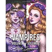 Vampires: An Adult Coloring Book Collection with Sexy Vampire Women, Dark Fantasy Romance, and Haunting Gothic Scenes for Relaxation