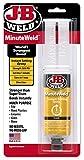 J-B Weld 50101 MinuteWeld Instant-Setting Epoxy Syringe -...