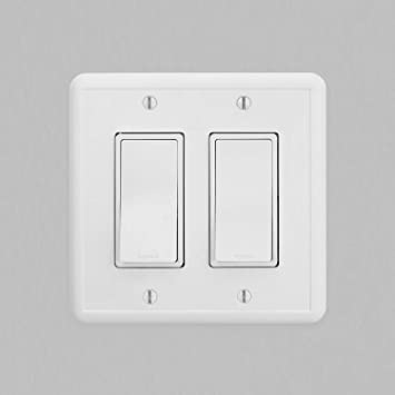 Double Rocker Light Switch Plate  Switch Cover in Sweet Meadow 297DR