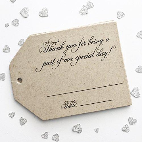 Wedding Escort Card Tags, Fill in Place Cards (LLT-366-KR)