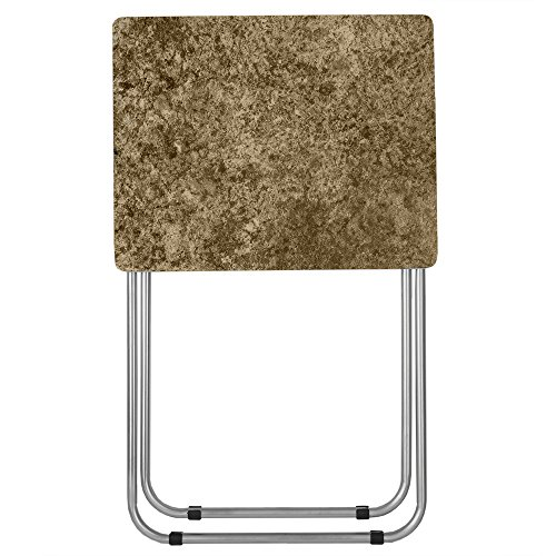 Home Basics TT41426 Folding Table, Brown