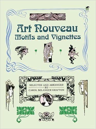 Art Nouveau Motifs and Vignettes (Dover Pictorial Archive) by Carol Belanger Grafton (2000-02-01)