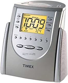 amazon com timex t300b digital tuning clock radio with nature rh amazon com timex t300b user manual