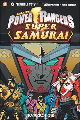 Libros gratis en línea no descargablesPower Rangers Super Samurai #2: Terrible Toys (Spanish Edition) PDF CHM by Stefan Petrucha