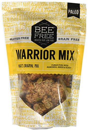 BeeFree Warrior Mix Granola   Gluten Free, Grain Free, & Paleo, Auggys Original Mix, 9 Ounce Bag