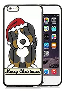 Popular Design iPhone 6 Plus Case,Christmas Dog Black iPhone 6 Plus 5.5 TPU Case 17
