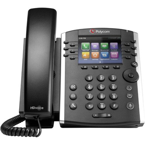 10 IP Phone - Cable - Desktop - 12 x Total Line - VoIP - Speakerphone - 2 x Network (RJ-45) - PoE Ports - Color ()