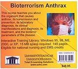 Bioterrorism Anthrax, Farb, Daniel, 1932634053